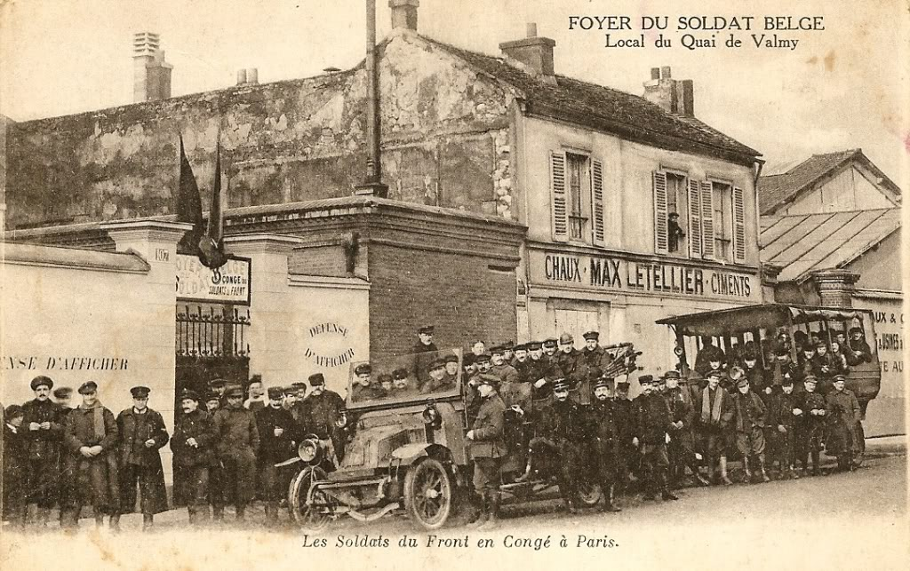 Foyer du Soldat belge à Paris